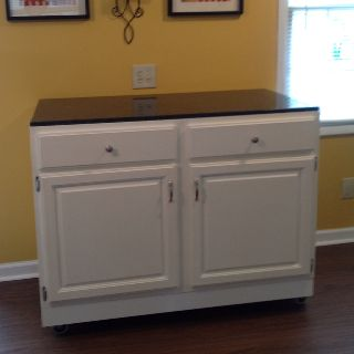 moveable kitchen islands moveable kitchen island made out of a base kitchen cabinet 1008