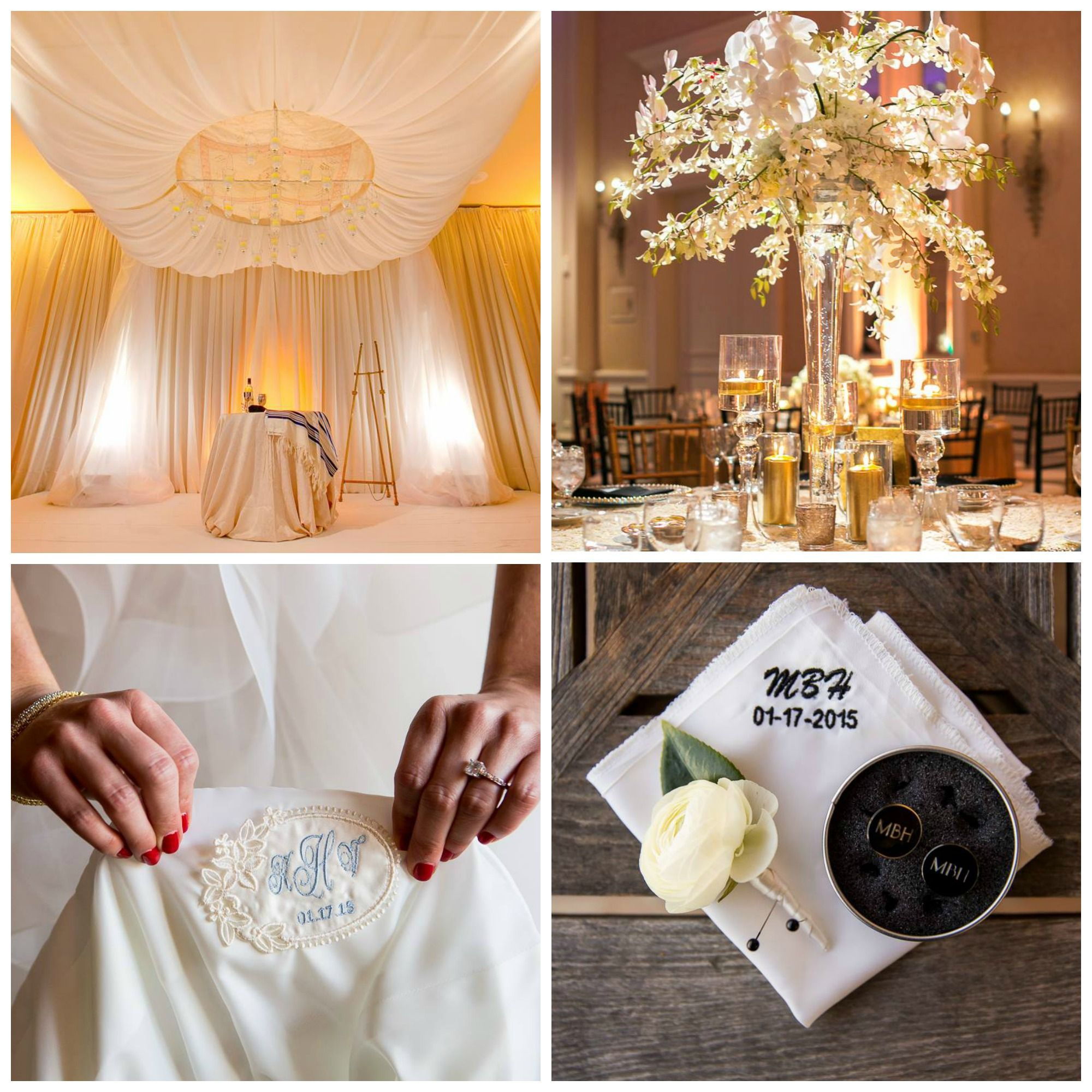 We adore every last detail of Michael + Katherine's big