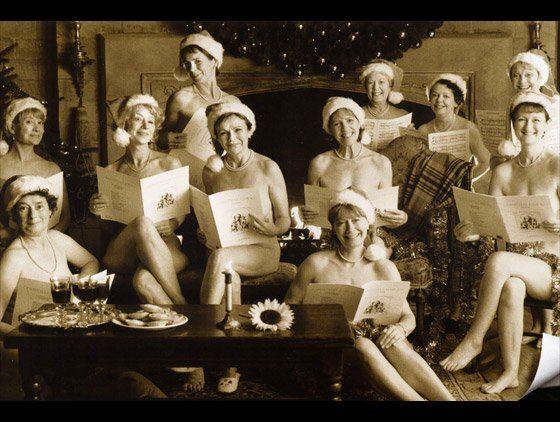 Nude swedish calendar girls are not