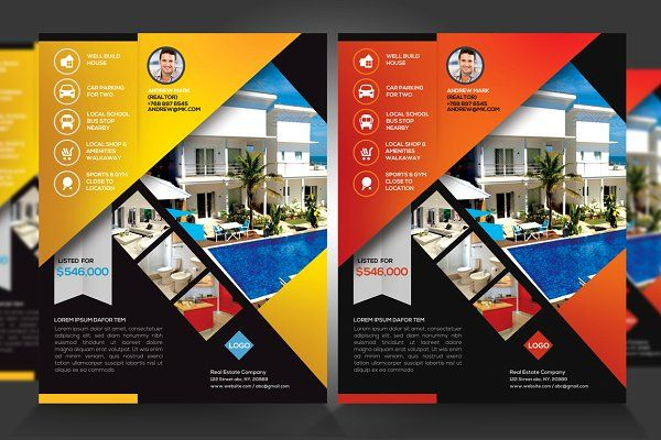 real estate new listing flyer v1 by satgur design studio on