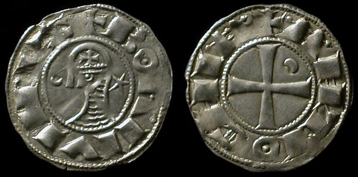 Medieval Silver Vikimg Coin Bright Luster Antiques