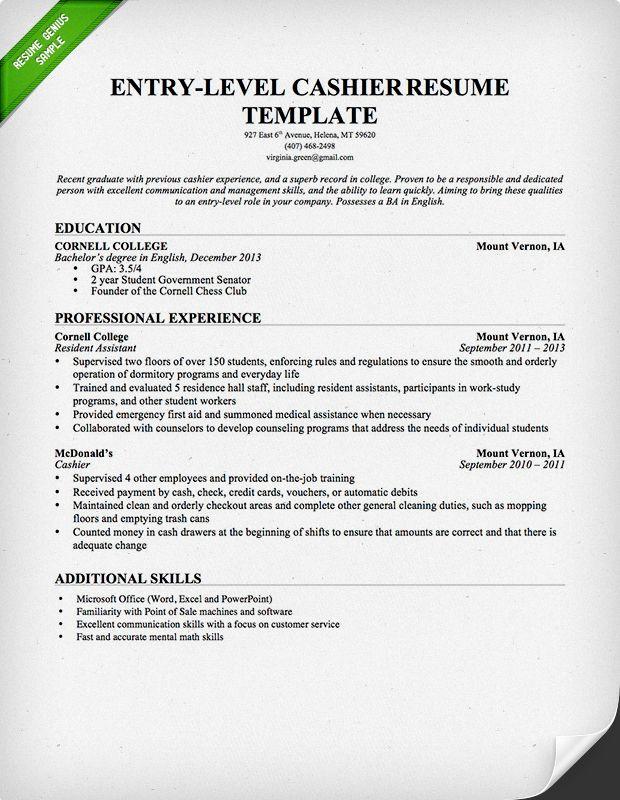 Free Downlodable Resume Templates Resume Genius Resume In English Resume Cover