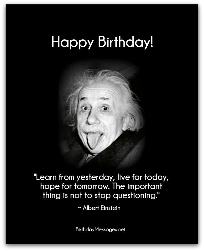happy birthday famous quotes