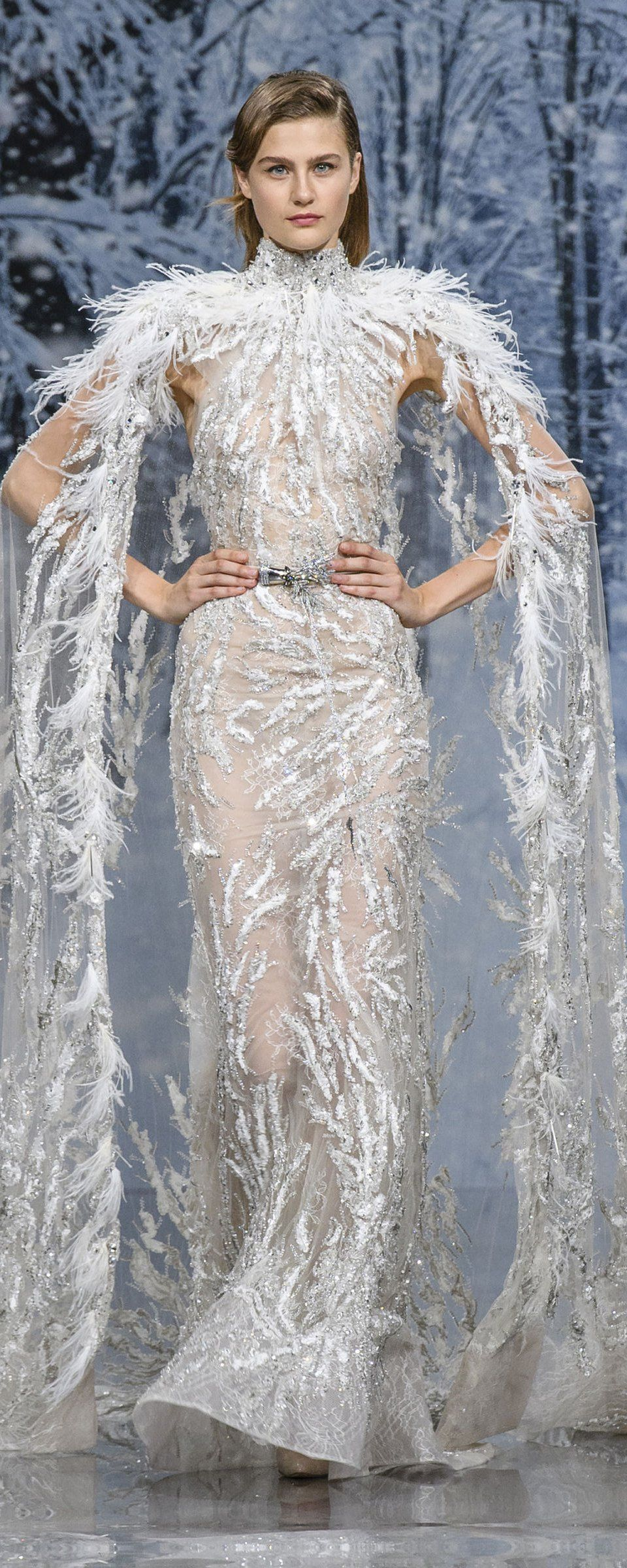 Ziad nakad fallwinter couture winter couture
