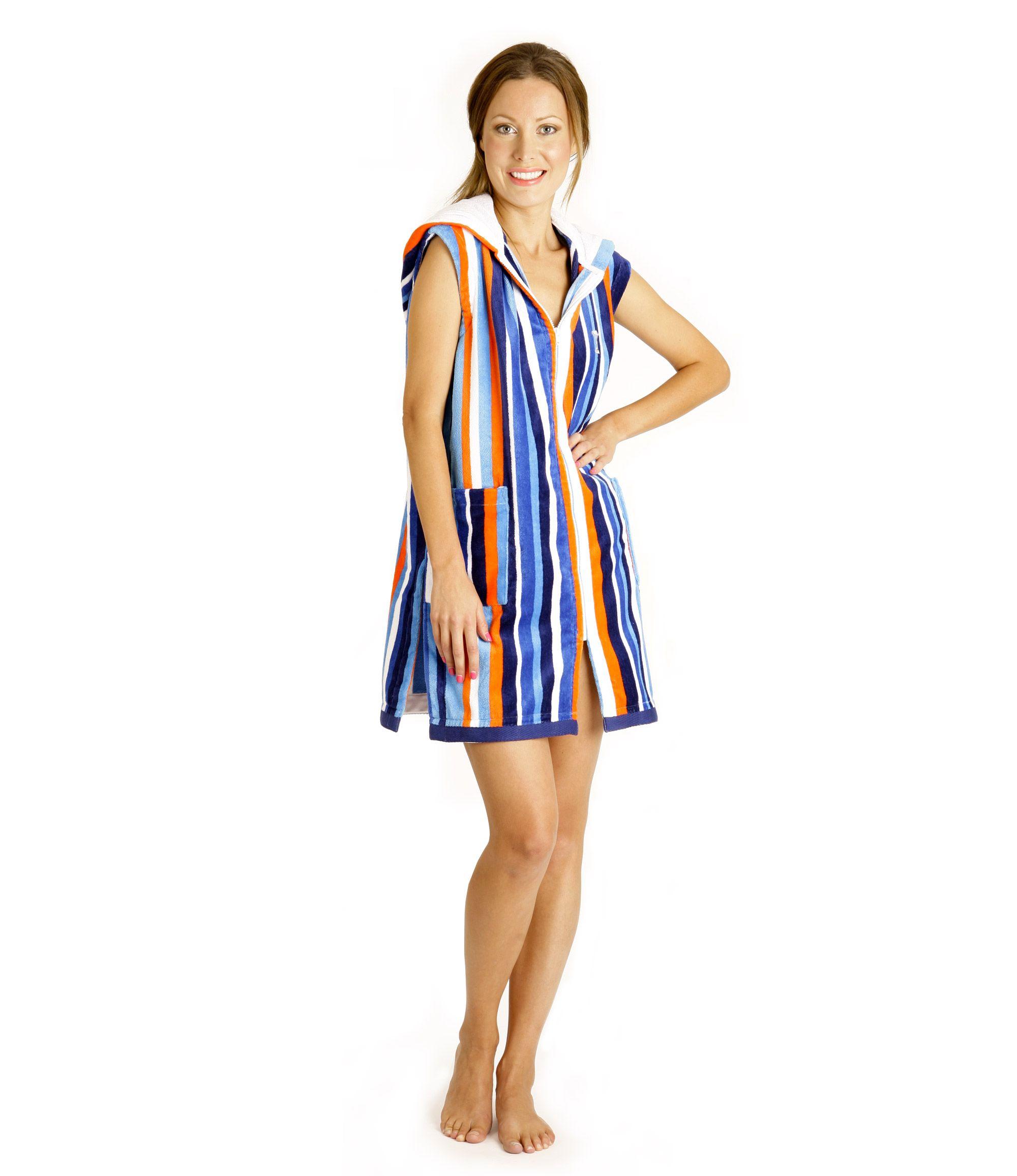 e2f32d6ee4 Terry Rich Australia   Womens Hooded Robe. Sleeveless Beach Robe Beach  Cover Ups ...