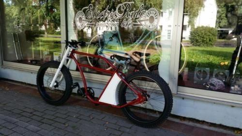 e bike pedelec cruiser herren fahrrad beachcruiser chopper