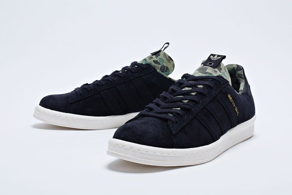 factory authentic a974a 0a54f UNDFTD x BAPE x adidas Consortium Campus 80s ...