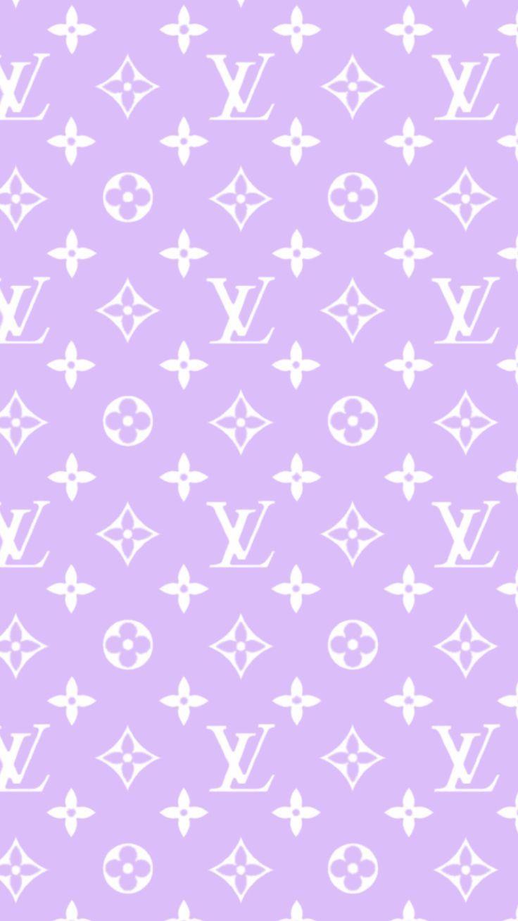 Louis Vuitton Bildschirmschoner Sperrbildschirm Telefon lila - Louis V