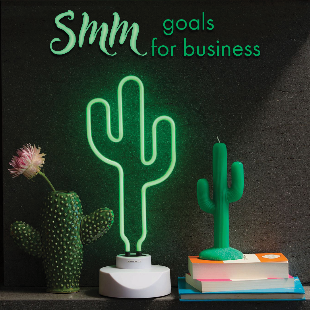 There are 4 main goals when promoting your business in