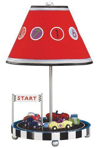 Guidecraft Retro Racers Table Lamp Kids Lamps Table Lamp Childrens Lamps