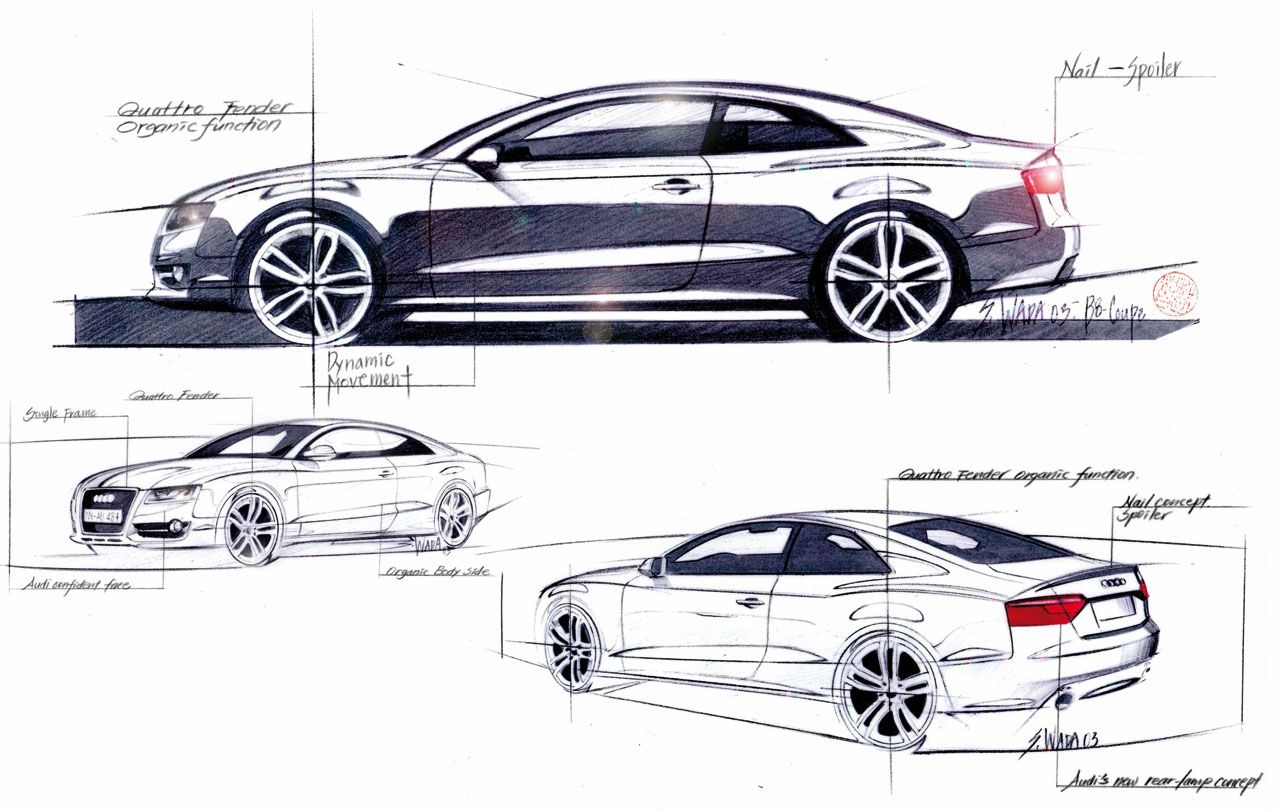 Car Design Tumblr Transportation Design Sketch Pinterest - Audi car design