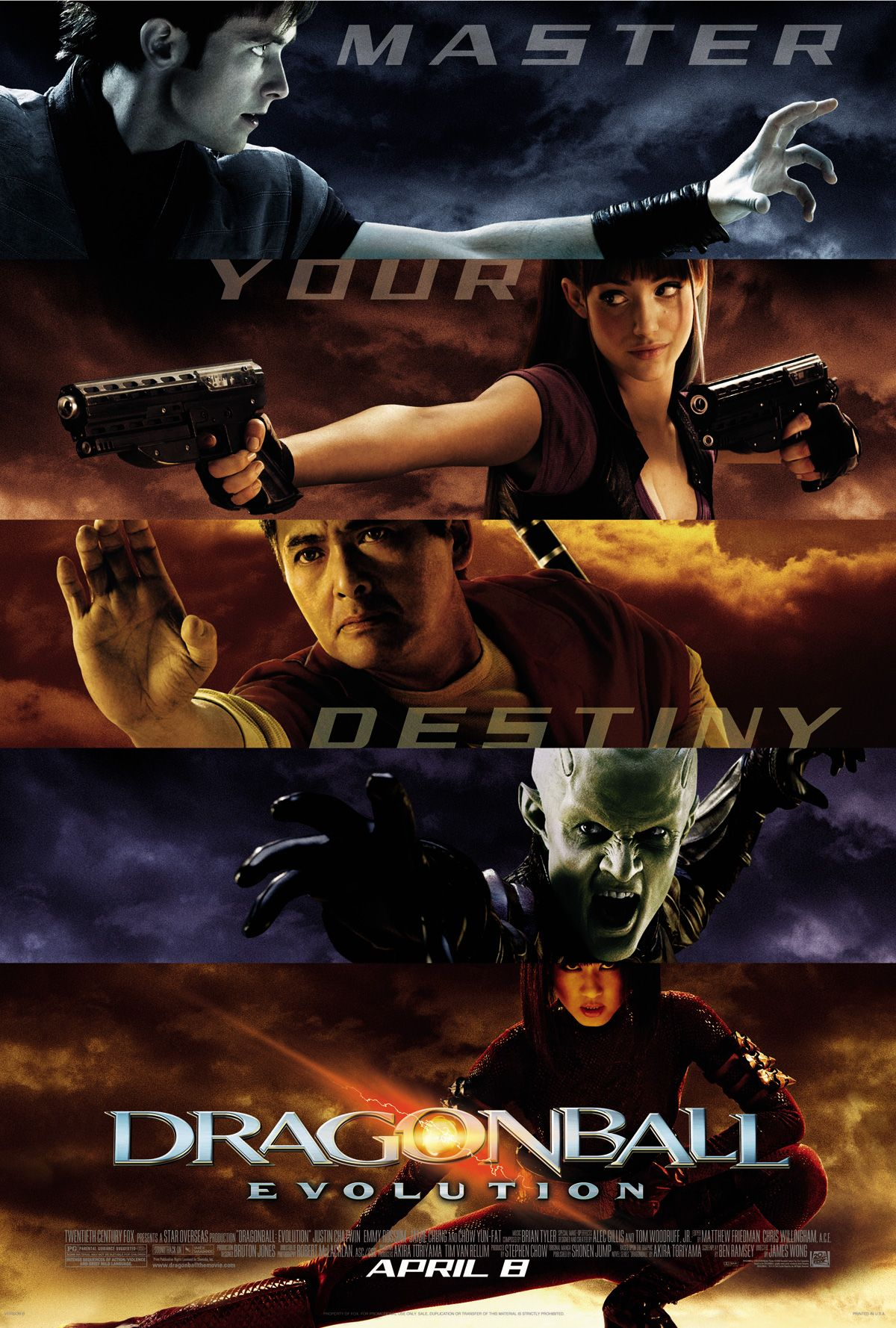 Dragonball Evolution Is A 2009 Adventure Fiction Film Directed By