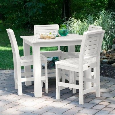 weatherly 5pc square counter dining set white highwood in 2019 rh pinterest com