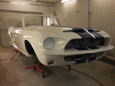 En kunds Mustang projekt