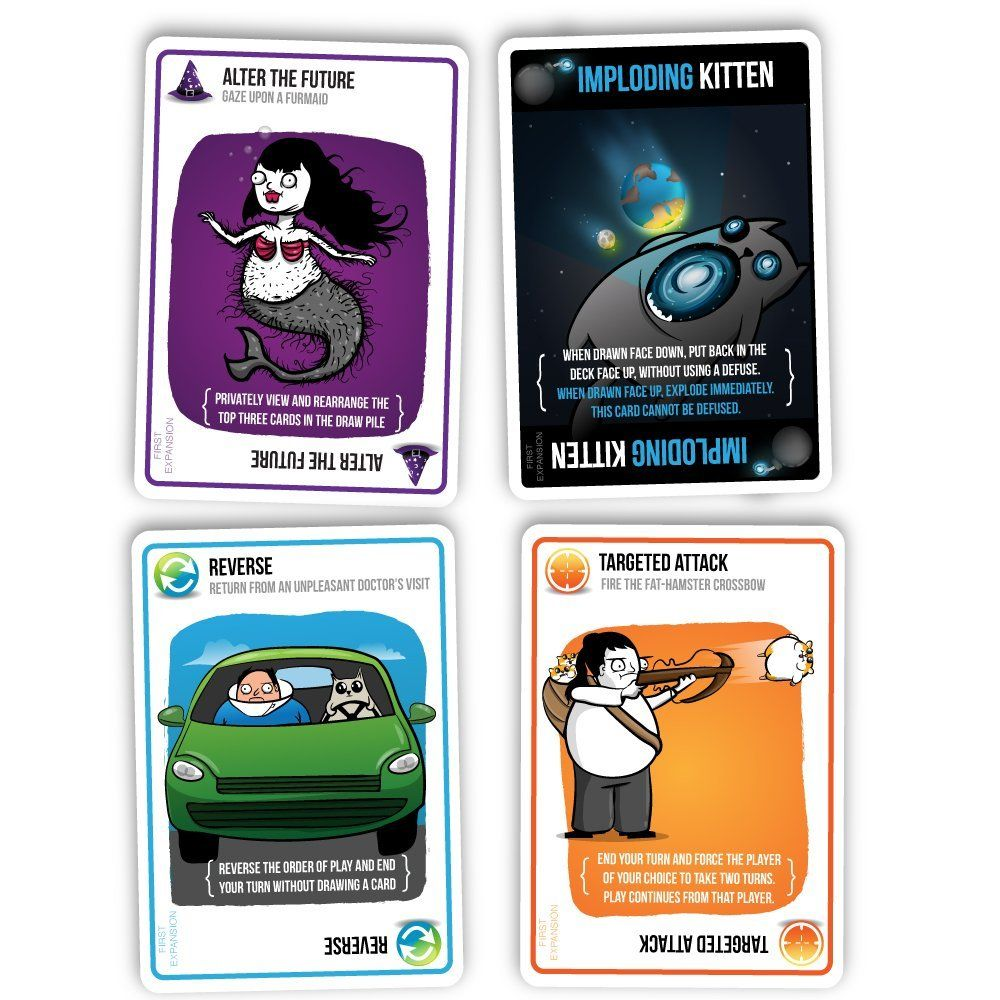 Exploding Kittens Game Review Exploding Kittens Card Games Exploding Kittens Card Game