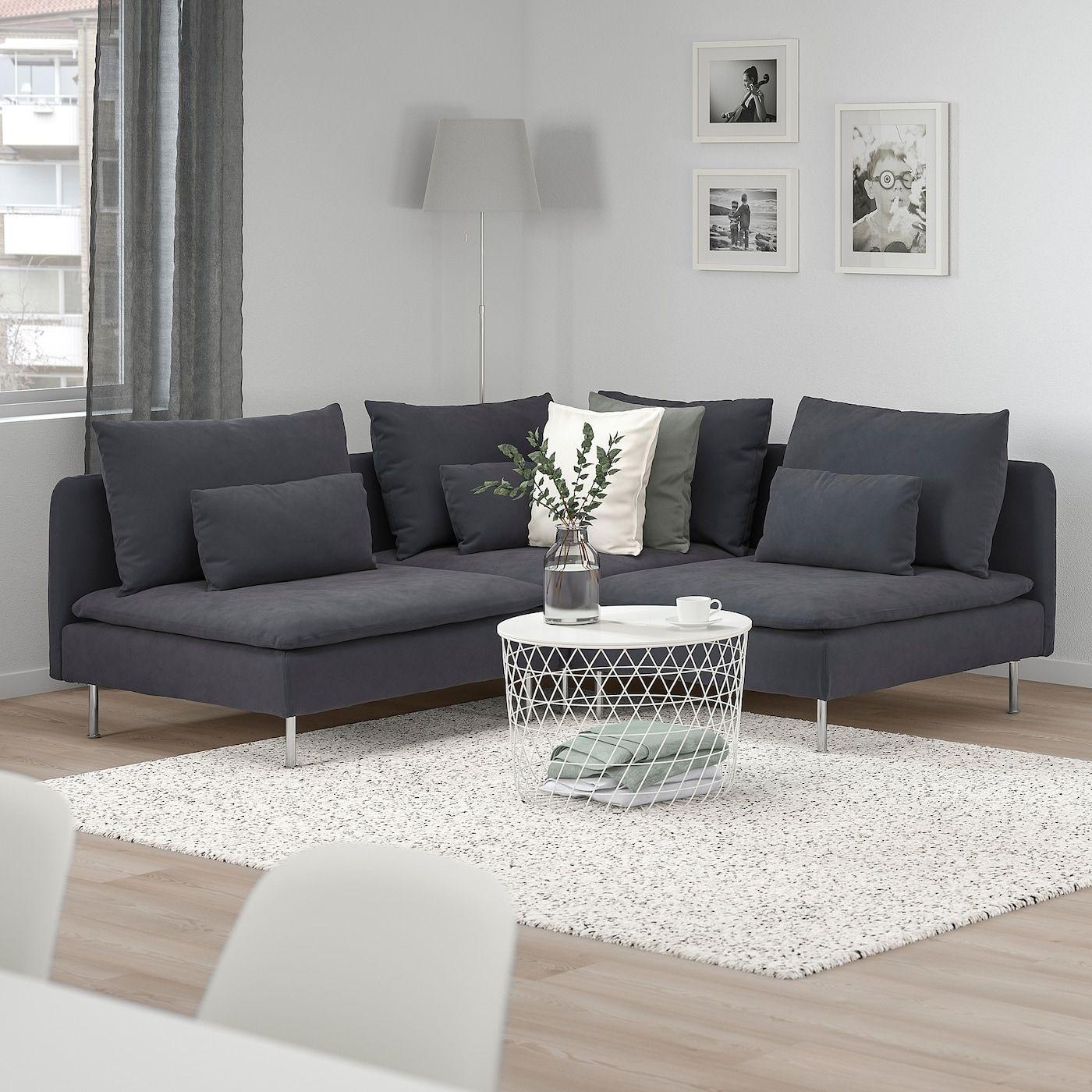Soderhamn Sectional 3 Sitzecke Samsta Dunkelgrau Ikea 2020