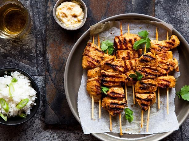 Chicken Kebabs Recipe Viva Chicken Recipes Pinterest Kebabs