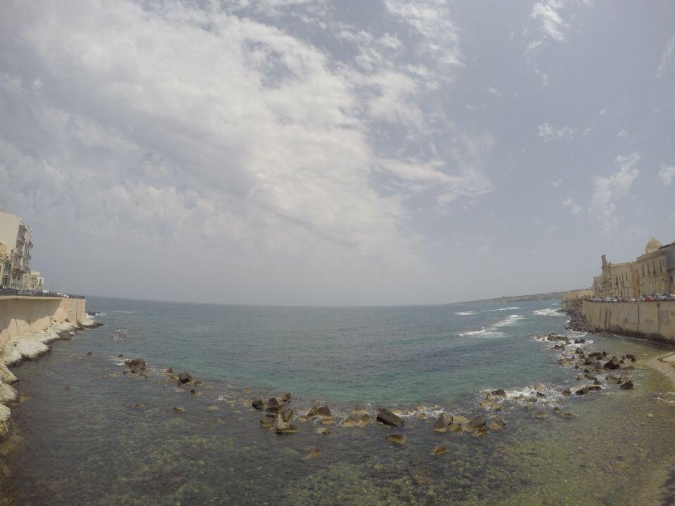 #gopro #sea #sicily #sky #white #blue #wonderful #italy