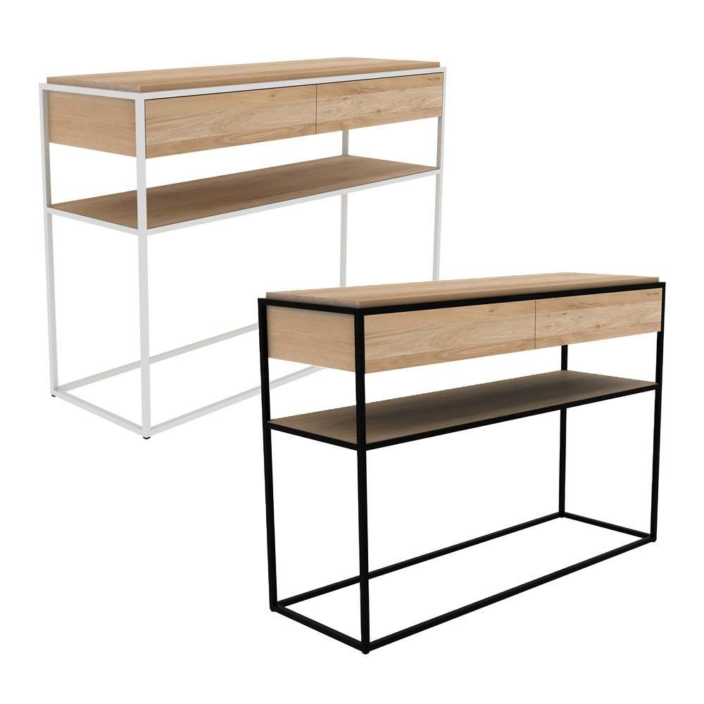 konsole hannes eiche natur pinterest konsole eiche und eiche natur. Black Bedroom Furniture Sets. Home Design Ideas