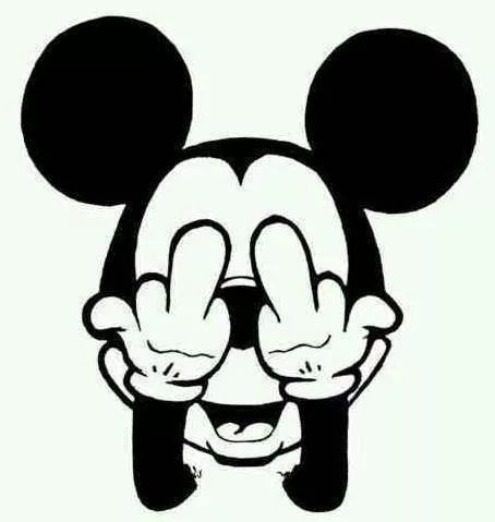 Naughty Naughty Mickey Mouse Drawings Mickey Mouse Mickey