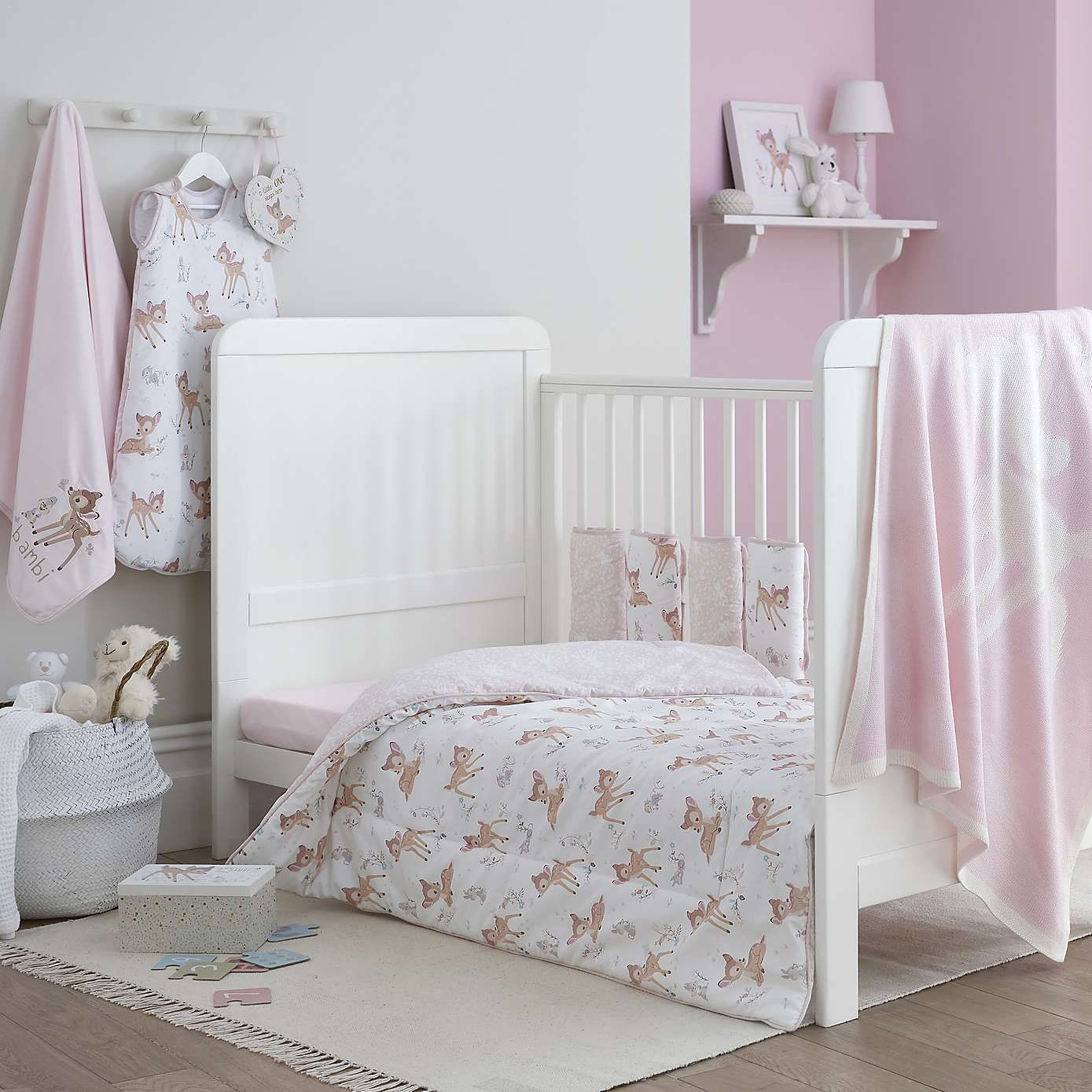 Bambi Duvet Cover and Pillowcase Set