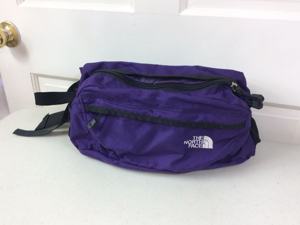 fe7827821ea83 The NORTH FACE Vintage Purple Lumbar Waist Bag Fanny Pack ...