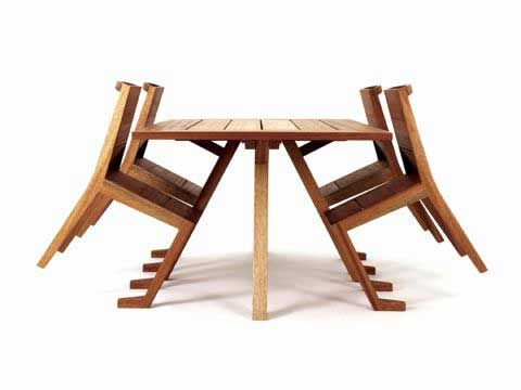 Tilted Chairs That You Don T Have To Push In Cool Furniture