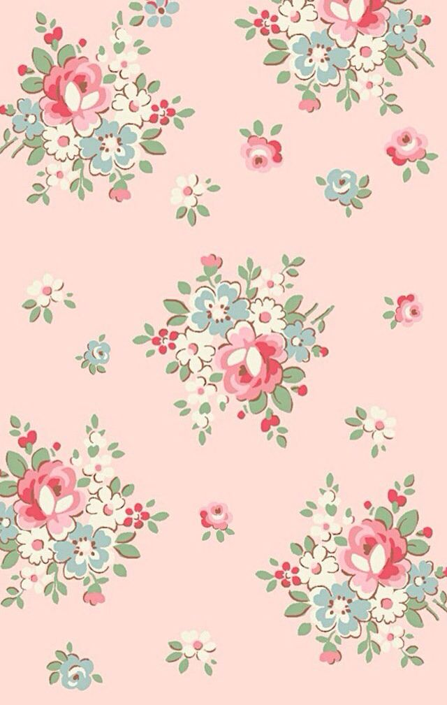 Cute Wallpapers Wallpaper Patterns Vintage Iphone Floral Mobile