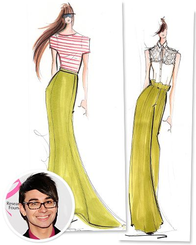 169 Christian Siriano Fashion Sketches And Illustrations