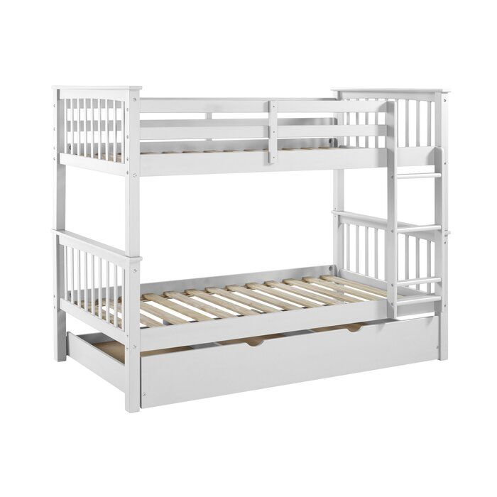 Esmeralda Twin over Twin Bed with Trundle & Reviews | AllModern