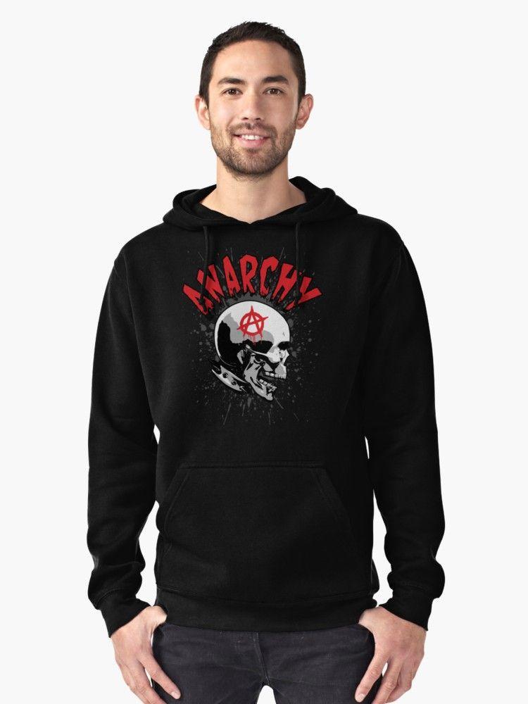 Anarchy Hoodie Pullover By Grandeduc Hoodies Hoodies Men Pullover Hoodie