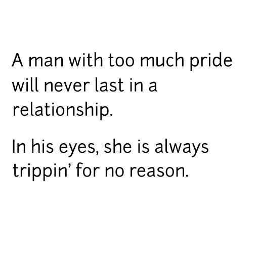how to have pride in a relationship