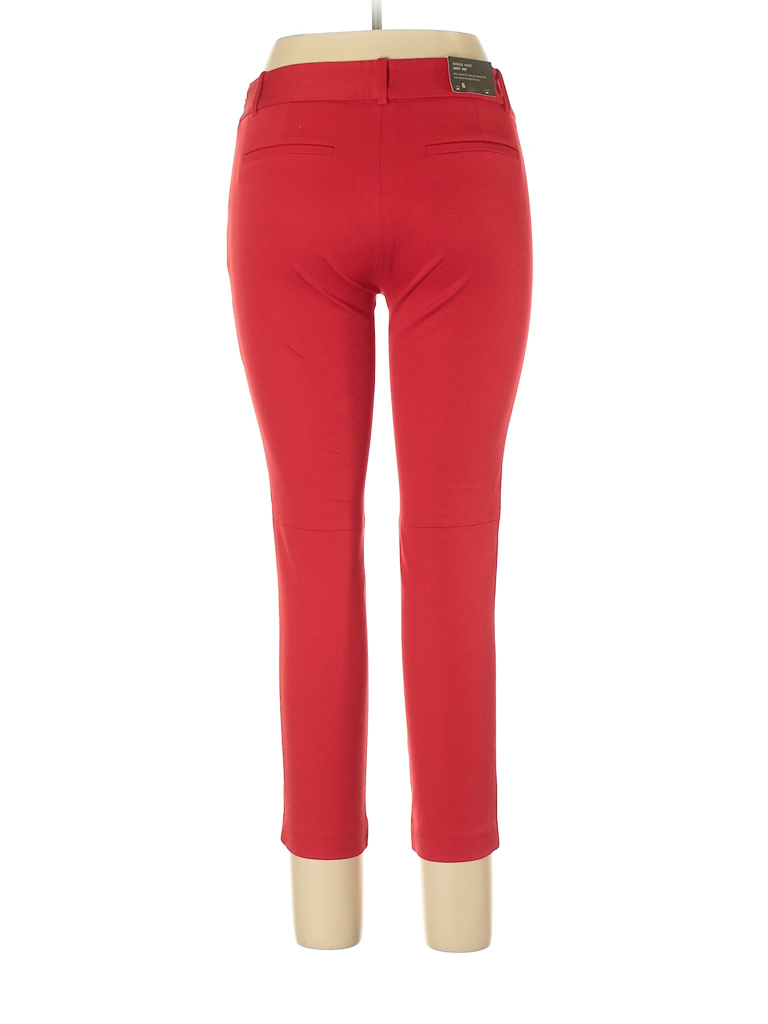 cc912c2d8ab23 J. Crew Factory Store Khakis: Red Women's Bottoms - New With Tags - 31642103