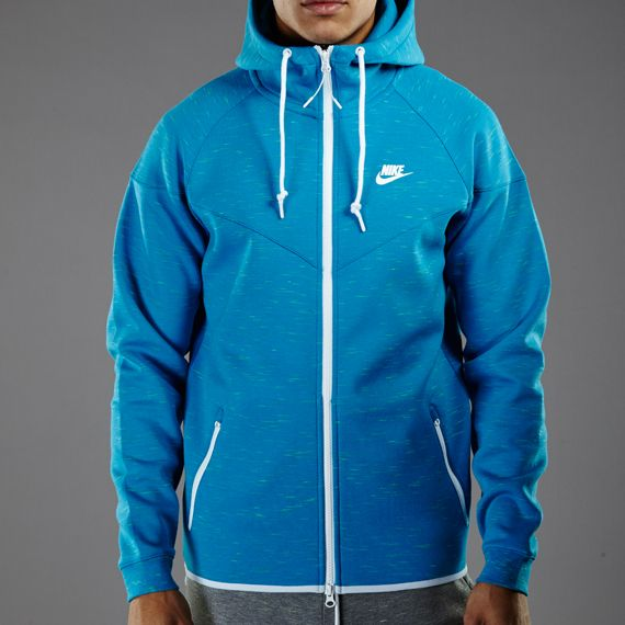 e44a9f90341f Nike Sportswear Tech Fleece Windrunner-1M - Light Blue Lacquer Heather    White