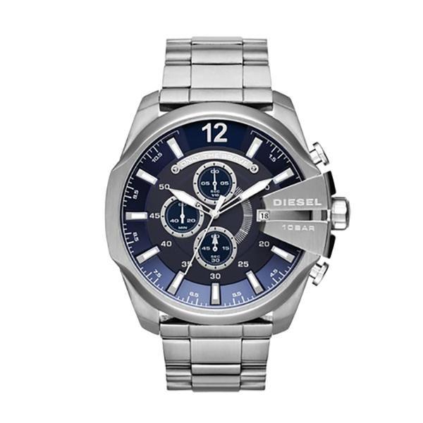 f2ed7b942a39 Reloj Diesel · Caja De Acero Inoxidable · Relojes Para Hombres · Cronógrafo  · Mega Chief Chronograph Blue Dial Stainless Steel Men s Watch