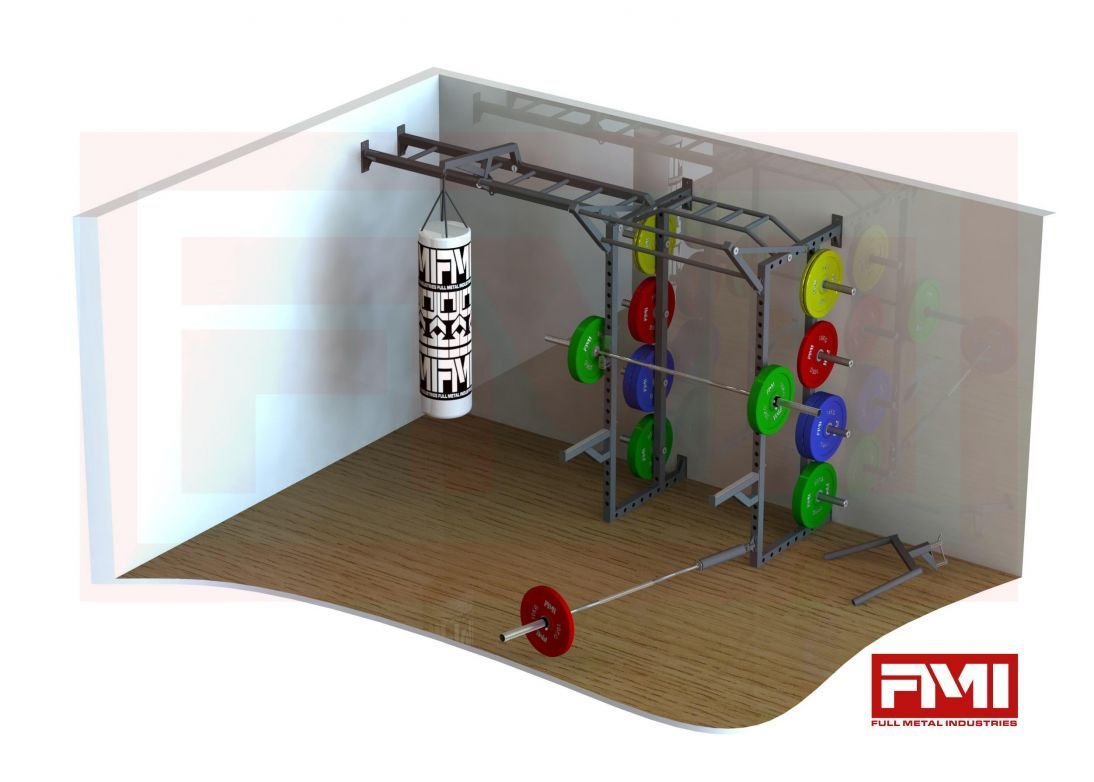 Garage rig by full metal industries home gym ideas at home gym