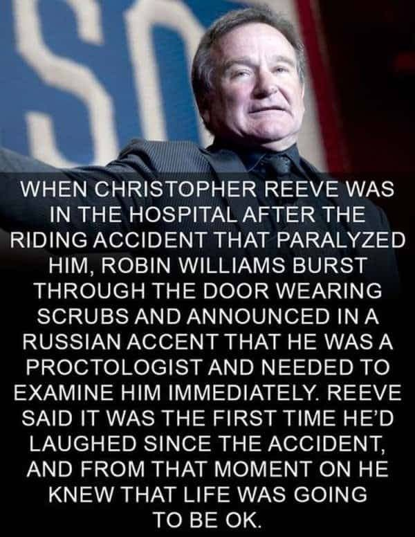 The Most Spectacular Collection Of Memes You Will Ever Witness In Your Whole Life 100 Guaranteed Happy Facts Robin Williams Quotes Robin Williams