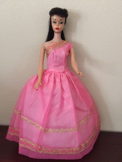 Fantastic Mint 1st time worn 1960\'s Barbie Evening gown. Halina\'s ...
