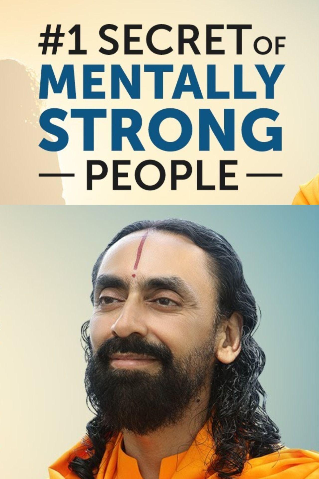 #1 SECRET of MENTALLY STRONG People - Inspirational Video by Swami Mukundananda JKYog