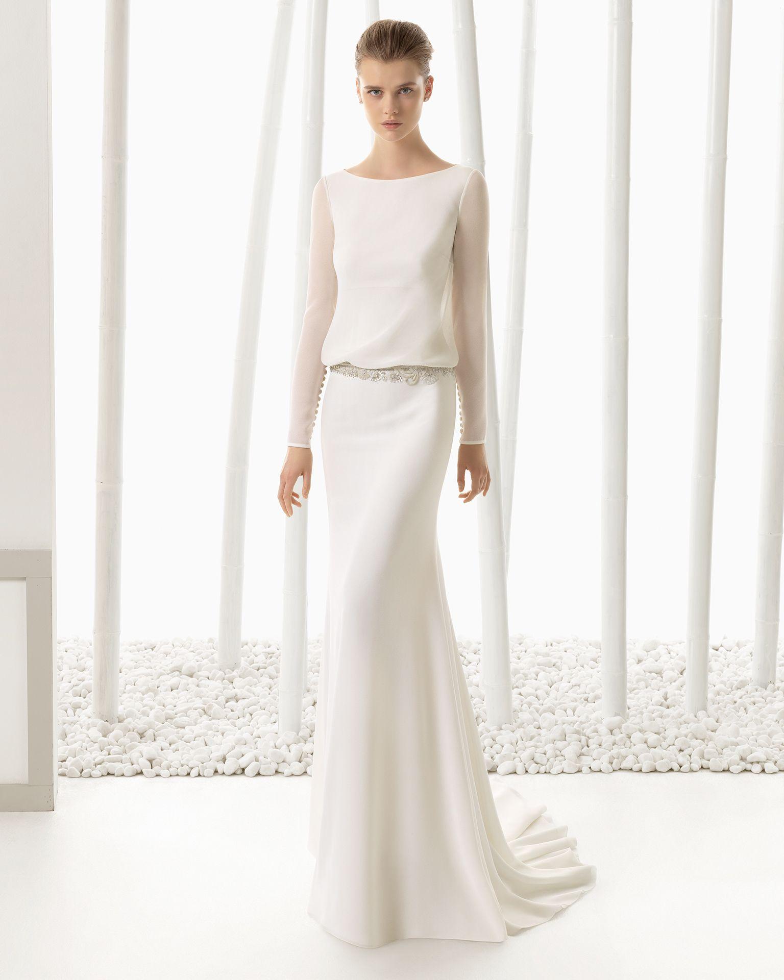 DIGNA vestido de novia Rosa Clará 2016