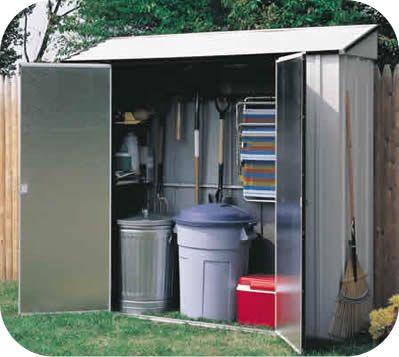 Garden Sheds Metal storage locker 7x2 arrow storage shed | garden shed | pinterest