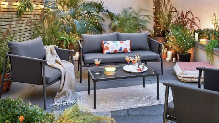 This Argos Garden Furniture Is Too Good To Miss Real Homes Argos Garden Furniture Garden Sofa Set Garden Sofa