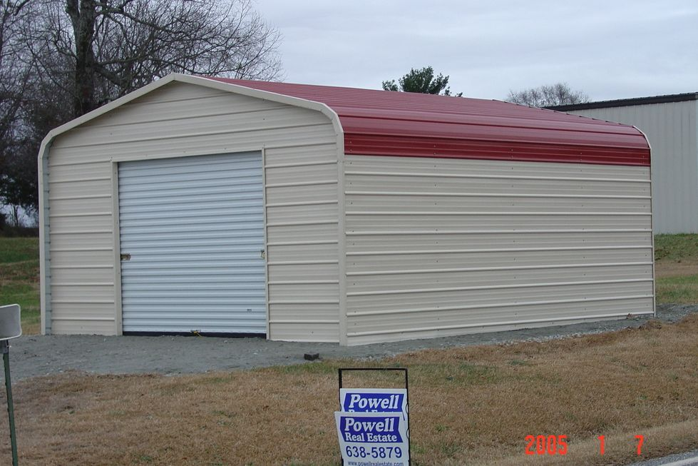 1 Car Garage Garage doors prices, Prefab metal garage