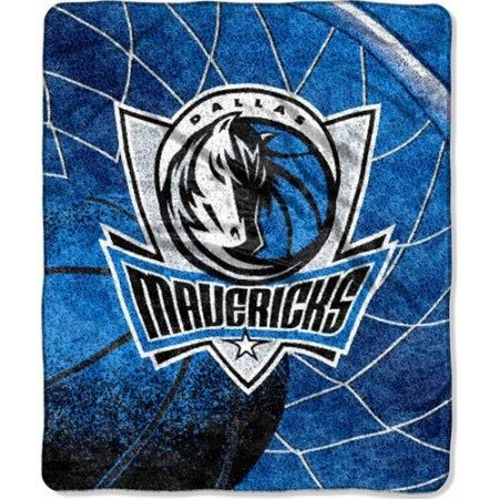 "Dallas Mavericks ""Reflect"" 50"" x 60"" Sherpa Throw Blanket"