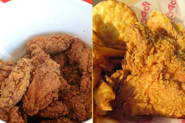 Best Fried Chicken Kfc Or Popeyes Tylt Stories Pinterest Kfc