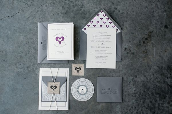 Modern style wedding announcements Invitations Pinterest