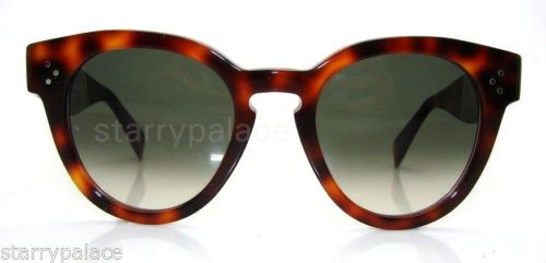 a0dd86dd8415 Authentic-CELINE-Thin-Preppy-Tortoise-Sunglass-CL-41049-05LXM-NEW ...