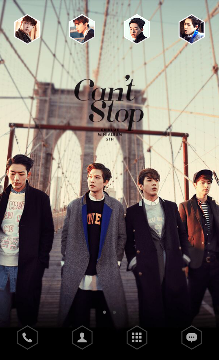 Google themes kpop - Cnblue S Can T Stop Theme Will Be Released Today Download It At