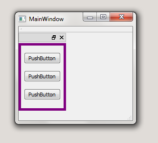 Set QDockWidget border when docked and floating | - Python