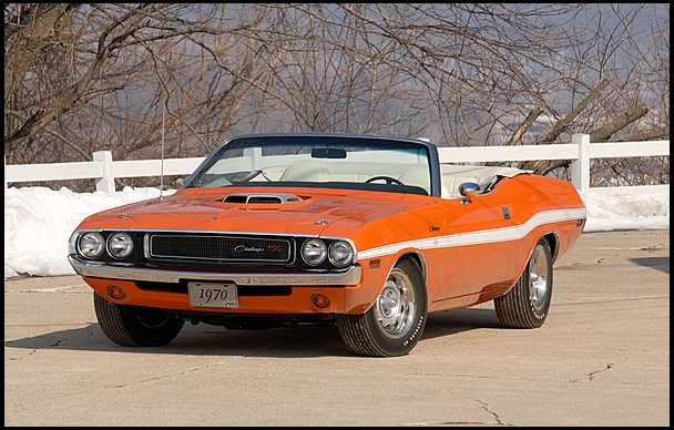 1970 Dodge Challenger R T 440 Six Pack 390hp Convertible Dodge